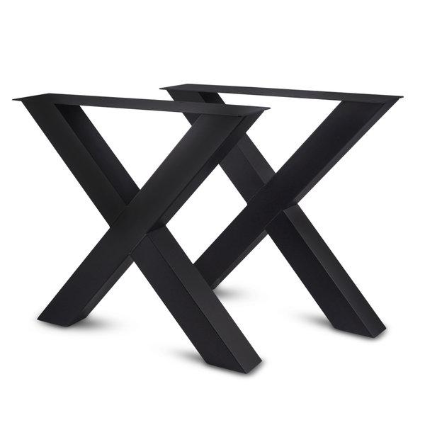 Tischgestell Stahl bei Eichenholzprofi.de